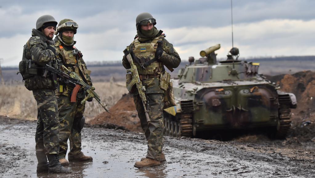 soldats ukraine